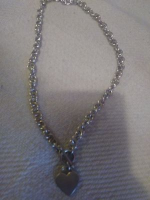 Silver necklace for Sale in Somerville, MA