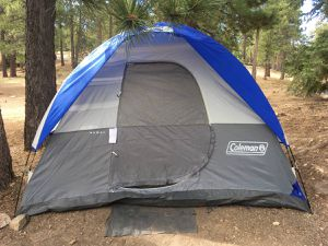 Coleman Kenai 10x8 4 Person Tent Hiking Camping Backpacking for Sale in Costa Mesa, CA