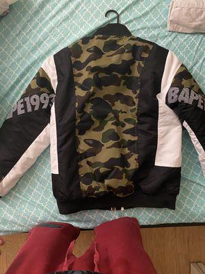 Bape bomber jacket for Sale in Morrisville, PA