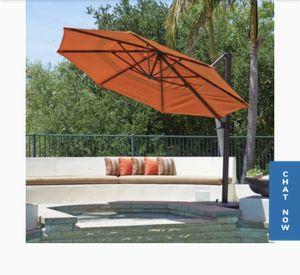 California Umbrella Brand HUGE 11 foot Umbrella BLACK for Sale in Ontario, CA