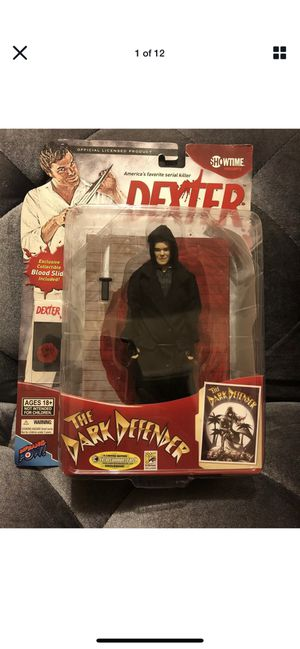 Dexter The Dark Defender Action Figure With Knife & Blood . Condition Is New for Sale in Fresno, CA