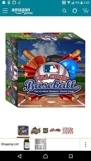 MLB Full Count Baseball board game for Sale in Houston, TX