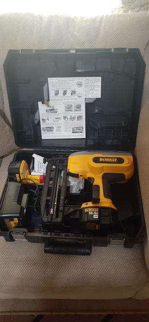 12v dewalt nailer for Sale in Wichita, KS