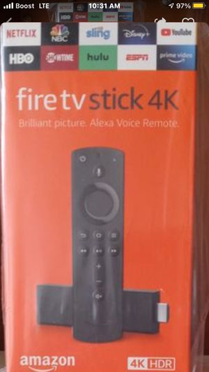 FIRE TV STICK AMAZON NEW NEVER USED for Sale in Lynwood, CA