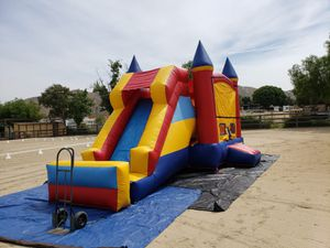 Combo jumper with slide and regular. Carpas-canopy for Sale in Chino Hills, CA