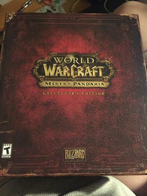 WOW Mist Of Pandaria Collectors Edition for Sale in OH, US