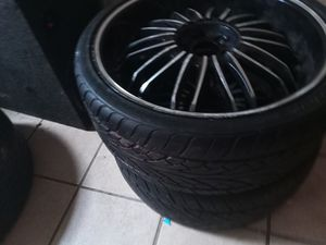 Two size 22 rims for Sale in West Point, MS