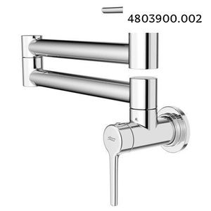 American Standard Studio S Wall-Mount Swing Arm Pot Filler Kitchen Faucet in Polished Chrome for Sale in Dallas, TX