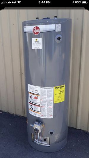 Brand new Water heater + installation = $499 out of door for Sale in Phoenix, AZ