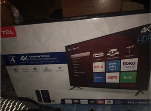 TCL 50 inch 4K Smart LED Roku TV for Sale in Atlanta, GA