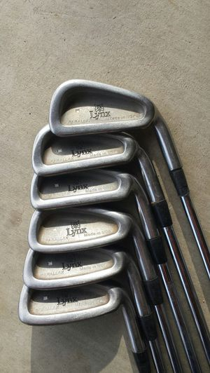 Lynx Parallax golf clubs partial iron set for Sale in Moreno Valley, CA