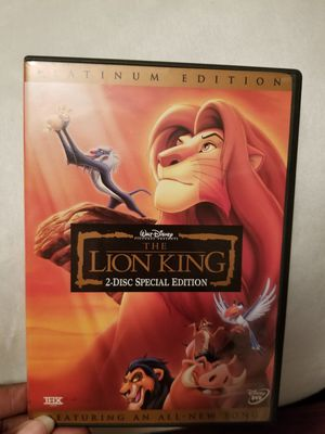 Lion king platinum edition for Sale in Union City, GA