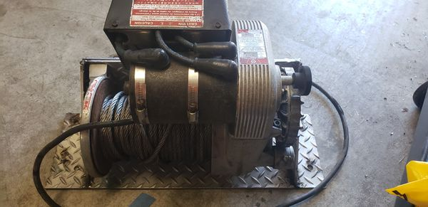 8274 Warn Winch Stainless cable