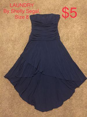 LAUNDRY by Shelli Segal, Navy Blue Strapless Dress, Size 8 for Sale in Phoenix, AZ