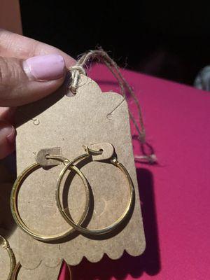 Earrings hoops for Sale in Germantown, MD