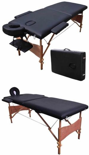 New in box 84 inches foldable portable spa massage tattoo parlor bed 550 lbs capacity for Sale in Whittier, CA