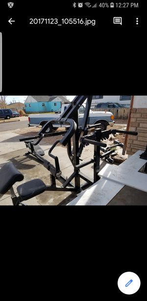 Work out bench system for Sale in Pueblo, CO