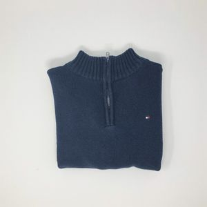 Available via shipping only. Boy's Tommy Hilfiger 1/4 Zip Neck Sweater Size 6 for Sale in Houston, TX