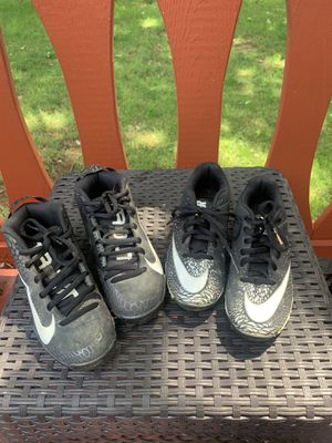 FREE boys baseball cleats for Sale in Camp Hill, PA