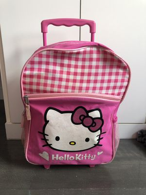 Hello Kitty backpack with wheels for Sale in New York, NY