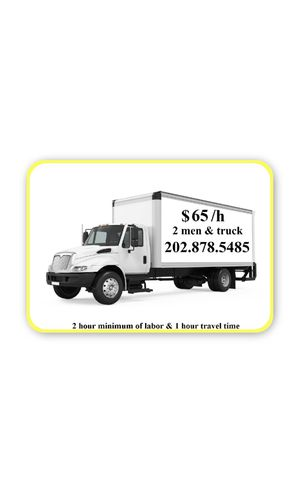 MOVERS, MOVER, MOVING, HAULING, DELIVERY for Sale in Silver Spring, MD