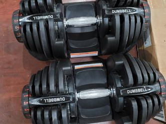 Dial Up Dumbell 1090 With Bowflex Stand for Sale in Queens,  NY