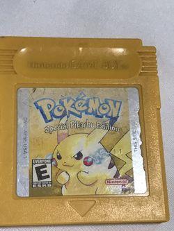 pokemon yellow version gameboy for Sale in Escondido,  CA