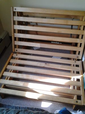 Twin size futon frame w/o mattress for Sale in Duluth, MN