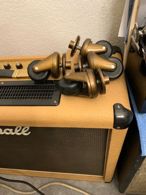 vintage (4) 1970's gold Marshall cabinet Casters $250 for Sale in Glendale, AZ