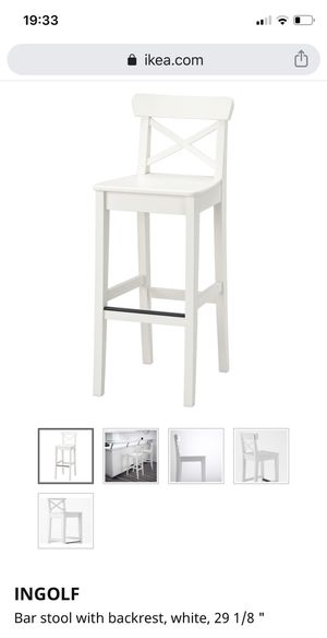"""IKEA ingolf bar stools (29"""" & 25"""") for Sale in Austin, TX"""