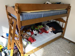 Ethan Allen Bunk bed for Sale in Forest Grove, OR