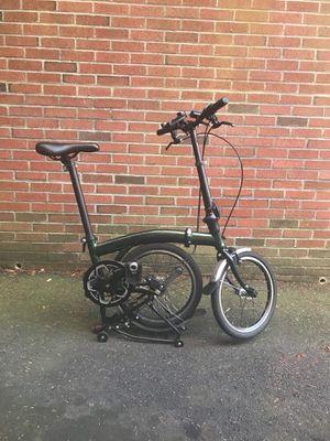 Folding bike like Brompton for Sale in Newton, MA