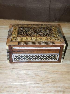 Antique wooden jewelry box for Sale in Phoenix, AZ