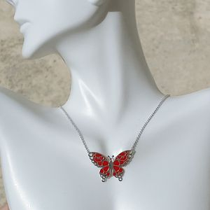 Holiday Gift 🎁 New sterling silver butterfly necklace for Sale in Pompano Beach, FL