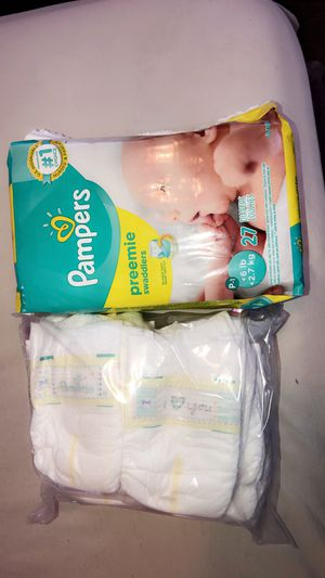 Pampers Preemie pack for Sale in Harrison, NJ