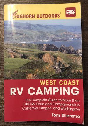 West Coast RV Camping book for Sale in Elk Grove, CA