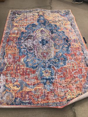 Brand new colorful area rug. Retails for over $220 for Sale in Fowler, CA