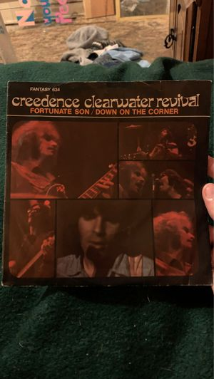 creedence clearwater revival . fortuanate son / down on the corner 45 rpm for Sale in Thompsonville, MI
