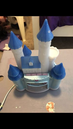 Princess castle alarm clock for Sale in Pasadena, TX