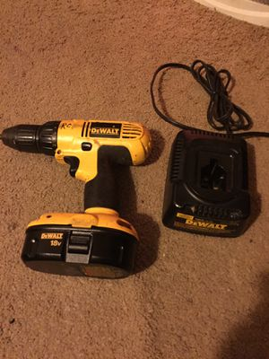 Dewalt cordless drill with new battery and charger for Sale in Boyce, LA