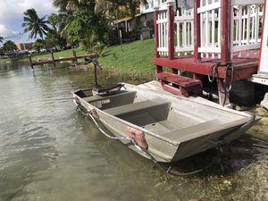 12 Feet Aluminum Boat *BUNDLE* for Sale in Miami, FL