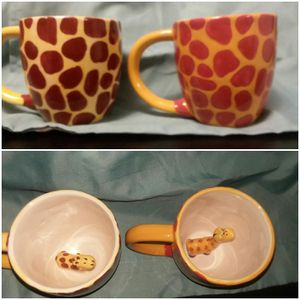 Giraffe cups for Sale in Vinton, VA