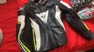 Dainese motorcycle jacket for men for Sale in Miami, FL