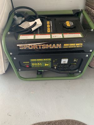 new generator gas and gasoline 4000w for Sale in Kissimmee, FL