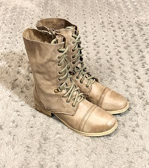 Women's Aldo lace-up boots paid $98 Size 7 Like new condition! With super cool distressed Army vibes. No issues with these boots Fabolous with lots o for Sale in Washington, DC