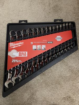 Combination Metric Wrench Mechanics Tool Set (15-Piece) for Sale in Bellevue, WA