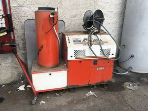 Heated Pressure washer needs work / hoses for Sale in Lodi, CA
