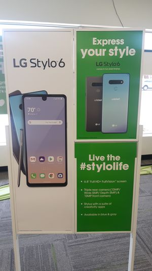 Switch over or upgrade and get the new stylo 6 for Sale in Abilene, TX