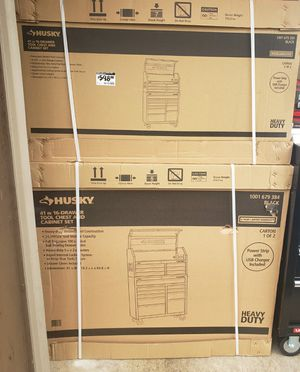 "New Husky 41"" 16 Drawer Tool Cabinet and Chest for Sale in Joppa, MD"