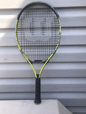 Wilson titanium XL tennis racket for Sale in Chicago Ridge, IL